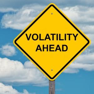 volatility caution sign